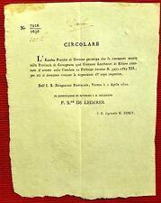 G77-PROV. DI GARSAGNANA, RITROVAMENTO DEL CORPO DI UN RICERCATO DI SILLANO, 1822