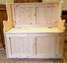 BRAND NEW HANDMADE SOLID PINE 3FT MONKS BENCHES..DELIVERY AVAILABLE