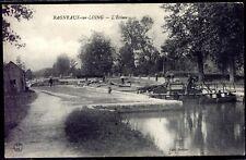 cpa 77 Bagneaux-sur-Loing . L'écluse .  Seine-et-Marne