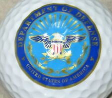 DEPARTMENT OF DEFENSE UNITED STATES US MILITARY LOGO GOLF BALL