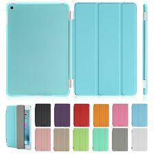 AU LOT Smart Stand Cover Hard Case for iPad Mini 123/iPad 234/iPad Air 12