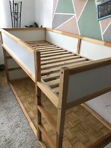 Kinderbett Kura Ikea umbaufähig