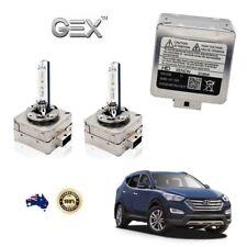2X New Low Beam Xenon HID D3S Bulbs 6000K For Hyundai Santa Fe 10-17