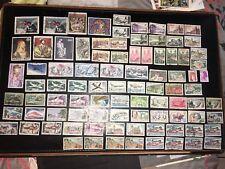 Lot Collection 89 Timbre Anciens France Oblitérés