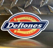 DEFTONES STICKER Dickies Logo 4.5 In