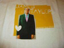 James Taylor Tour Shirt ( Size L ) NEW!!!