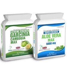 90 Garcinia Cambogia & 60 Aloe Vera Colon Cleanse libre de pérdida de peso de dieta consejos