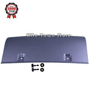 New Rear Tow Bumper Cover Platinum Gray Fits Audi Q7 2010-2015 4L0807819M1RR