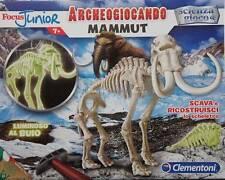 CLEMENTONI SCIENZA E GIOCO ARCHEOGIOCANDO MAMMUT LUMINESCENTE ART 13186
