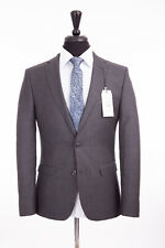 Men's Ben Sherman Grey Camden Slim Fit Suit 46R W40 L32 RRP£365
