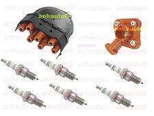 BMW E30 E32 E34 Ignition Kit Distributor Cap Rotor Spark Plugs Bremi Bosch OEM