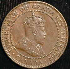 Canada Cent 1906 Edward VII KM#8  (T112)