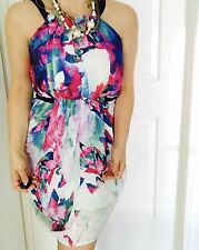 Cooper St Womens Dress Lucid Kuta Lined Floral Printed Poly Sz 8