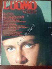 Rivista Magazine - primo numero di L' Uomo Vogue - Settembre 1967 - moda fashion