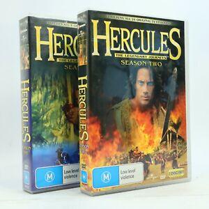 Hercules The Legendary Journeys Season 1 2 DVD 2009 14-Disc Set Rare GC OOP
