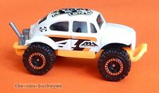 2012 Matchbox Loose Volkswagen Beetle 4X4 White 4 MH Racing Combine Shipping