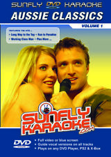 AUSSIE HITS 1 SUNFLY KARAOKE MULTIPLEX DVD 12 HIT SONGS