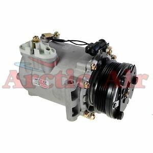 77570 AC Compressor with Clutch fits 2004-2007 Saturn Vue 2.2L