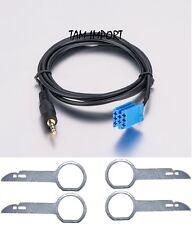 CABLE AUX MP3 AUTORADIO AUDI CONCERT + 4 CLE EXTRACTEUR