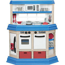 Kids Pretend Play Kitchen Playset Plastic Cooking Food Toy Boy Girl Children Set