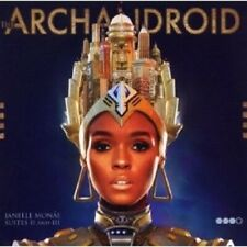 """JANELLE MONAE """"THE ARCHANDROID"""" CD NEW"""