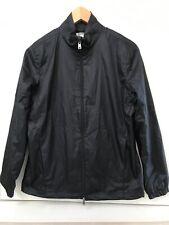 Greg Norman Women's Full Zip Windbreaker Jacket Size S Black