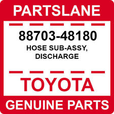 88703-48180 Toyota OEM Genuine HOSE SUB-ASSY, DISCHARGE