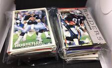 More details for 300x *random* la / oakland raiders cards 80s & 90s base nfl bundle lot