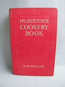 Mrs. Beeton's Cookery Book One Shilling 1901