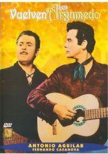 Vuelven Los Argumedo DVD NEW Antonio Aguilar  y Fernando Casanova  ENVIO GRATIS