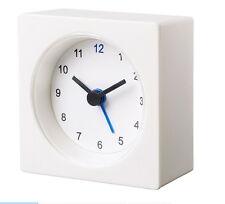 NEW IKEA VACKIS  White Battery Operated Travel Alarm Clock