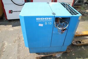 Boge Kompressor S15