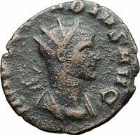 CLAUDIUS II Gothicus 268AD Rome Authentic Ancient Roman Coin JUPITER ZEUS i80201