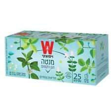 Wissotzky Magical Garden Peppermint Infusion Decaff Kosher Product 25 Bags