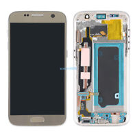 Pour Samsung Galaxy S7 G930F Complet Ecran LCD Vitre Tactile sur chassis Gold