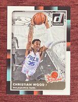 "2015-16 Donruss CHRISTIAN WOOD Rookie Card ""The Rookies"" #23 RC 76ers Rockets🔥"