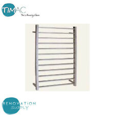 BRAND NEW BATHROOM TOWEL RAIL RACK 12 SQUARE BAR CHROME FINISHED