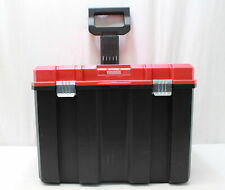 CRAFTSMAN VERSA STACK SYSTEM 17' ROLLING TOOL BOX ORGANIZER RED PLASTIC