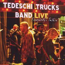 Tedeschi Trucks Band-Everybody 'S TALKIN' 2 CD 11 tracks jazz/swing NUOVO