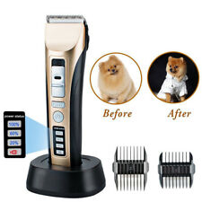 Electronic Pet Professional Dog Cat Grooming Clippers Kit Hair Trimmer Groomer