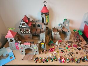 Playmobil Large Medieval Knight Castle 3666 & 3030 - Extras & Accessories