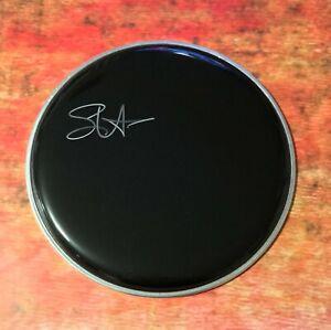 GFA Train Band Original Drummer SCOTT UNDERWOOD Signed Drumhead S1 COA