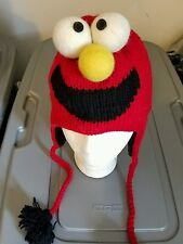 Elmo Hat only, New, handmade,  wool, exceptionally warm!