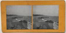 Cannes Plage de la Bocca Photo P39L9n27 Stereo Stereoview Vintage