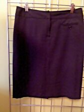 Atelier label from Nordstrom Black skirt size 4 lined buttoned pockets Pencil