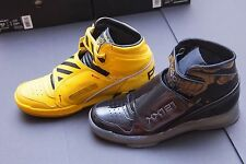 Reebok Retro Alien Stomper Final Battle Black Yellow Double Pack Men Size 10.5