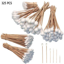 325 Pc Industrial Large Cotton Swab Set Tips Assortment Detailing Cleaning Q Gun