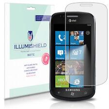 iLLumiShield Matte Screen Protector w Anti-Glare/Print 3x for Samsung Focus I917