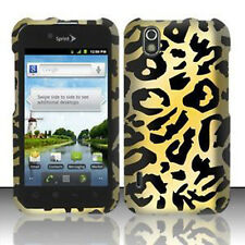 For Alltel LG Ignite Rubberized HARD Protector Case Snap on Phone Cover Cheetah