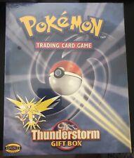 Pokemon Thunderstorm Gift Box BRAND NEW/SEALED! Ultra Rare WOTC Era!